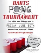Bart's Summer Pong Tournament