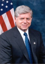 Congressman John B Larson here hosting a public forum
